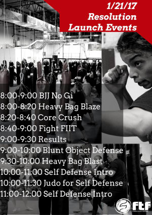 Kids Martial Arts in Charlotte - FTF® Fitness and Self-Defense - OPEN House Event Free Classes January 21st
