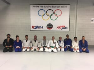 Pure MMA's first Judo green belt.
