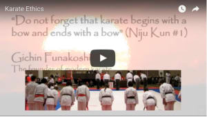 Kids Karate in Mesa - Shotokan Karate of Arizona - Karate Ethics | Kids Martial Arts in Mesa