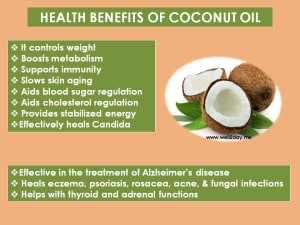 Personal Training in Concord - Individual Fitness - Health Benefits of Coconut Oil