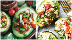 Personal Training in Concord - Individual Fitness - Stuffed Avocados - 2 Ways