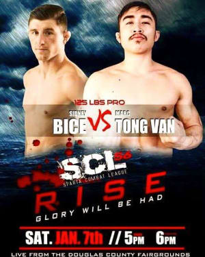 Our first fights of 2017! Be sure to support Sid 1/7!