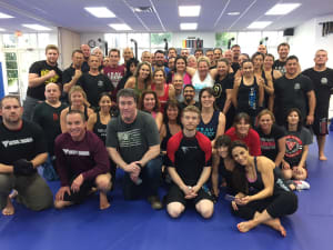 in Jupiter - Harmony Martial Arts Center - Active Shooter Seminar  a huge Success