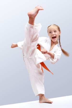 Kids Karate  in Levittown - Amerikick Martial Arts - Improving Children's Concentration Through Martial Arts