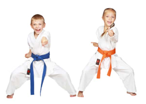 Kids Karate  in Levittown - Amerikick Martial Arts - Building Character In Children