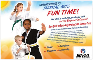 SMA SUMMER CAMP: Make it the best, most beneficial summer ever!