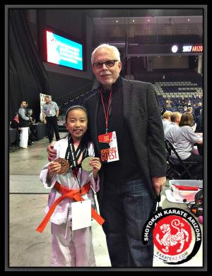 Kids Karate in Mesa - Shotokan Karate of Arizona - Young Karate Kid - New Star in the making!
