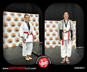 Kids Karate in Mesa - Shotokan Karate of Arizona - Two - 2 - Ladies in Gold