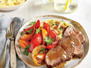 Personal Training in Concord - Individual Fitness - Pan Roasted Pork Tenderloin with Peppers