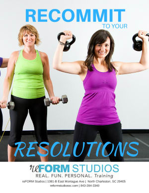 Personal Training in North Charleston - reFORM Studios - Recommit to your Resolutions