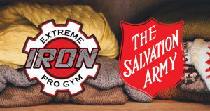 NOVEMBER CLOTHES DRIVE W/ EXTREME IRON PRO GYM & THE SALVATION ARMY