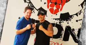 Gym Services in Far North Dallas - Extreme Iron Pro Gym - CLIENT & TRAINER OF THE MONTH: TOM BLAS & ROBERT JACOBS