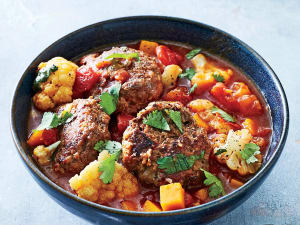 Personal Training in Concord - Individual Fitness - Spiced Meatball Butternut & Tomato Stew