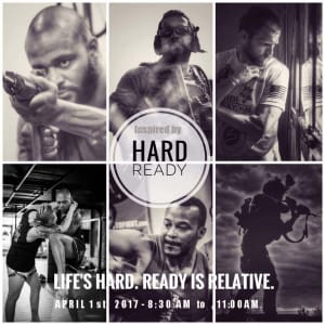 Hard Ready seminar this Sunday