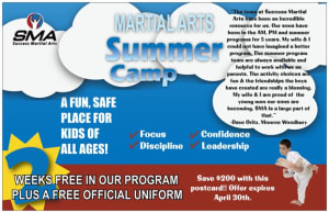 Karate Summer Camp Registration Open
