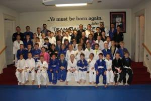 Kids Martial Arts in Sewell - Hassett's Jiu Jitsu Club - Spring 2017 Belt Promotion Ceremonies