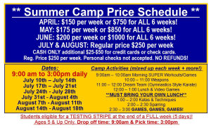 Kids Karate in Philadelphia - Amerikick Martial Arts Northeast Philly - 2017 SUMMER CAMP SPECIAL