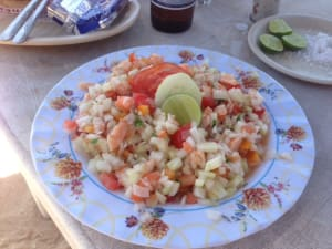 Personal Training  in Nanaimo - Northridge Health Performance Centre - Summer Shrimp Ceviche