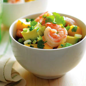 Personal Training in Concord - Individual Fitness - Mango Avocado Shrimp Salad