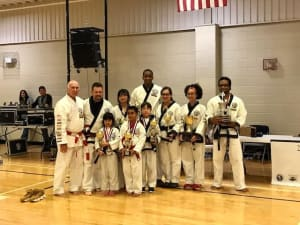 Kids Karate in Gainesville and Flowery Branch  - Rock Solid Karate - Thank you Region 21 volunteers!!!