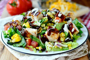 Personal Training in Concord - Individual Fitness - Hawaiian BBQ Chicken Salad