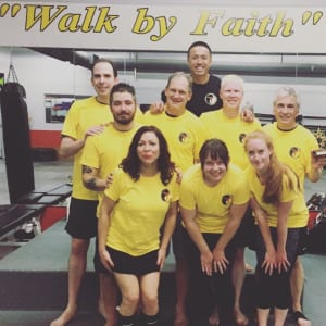 Congrats Krav Maga Level 1 Promoters!