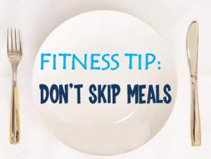 Personal Training in Concord - Individual Fitness - Don't Skip Meals