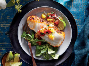 Personal Training in Concord - Individual Fitness - Sea Bass with Citrus Salsa