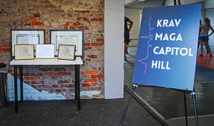 Krav Maga in Washington DC - Krav Maga Capitol Hill - Krav Maga Capitol Hill Grand Opening in Pictures