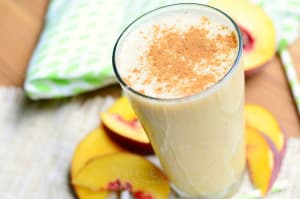 Personal Training in Concord - Individual Fitness - Peaches n' Cream Smoothie