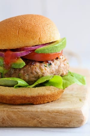 Personal Training in Concord - Individual Fitness - Turkey Burgers with Zucchini