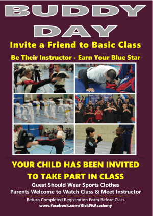 Kids Karate in Slough - KickFit Martial Arts Slough - Bring a Friend to Class