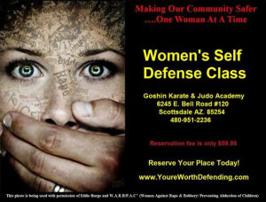 Kids Karate in Scottsdale - Goshin Karate & Judo Academy - Woman's Self Defense Class - Scottsdale Arizona