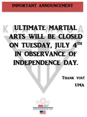 Kids Martial Arts in Chicago - Ultimate Martial Arts - Mark your calendars!