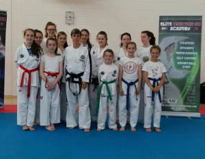 Kids Self Defence  in Balbriggan - Elite Taekwondo Academy - Ladies Only Seminar a Huge Success