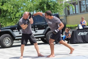 100% MARTIAL ARTS AT THE UFC FAN VILLAGE IN OTTAWA