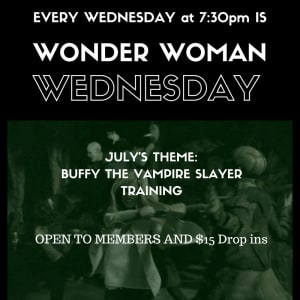 Kids Martial Arts  in Austin - Fit & Fearless - Wonder Women Wednesday - July