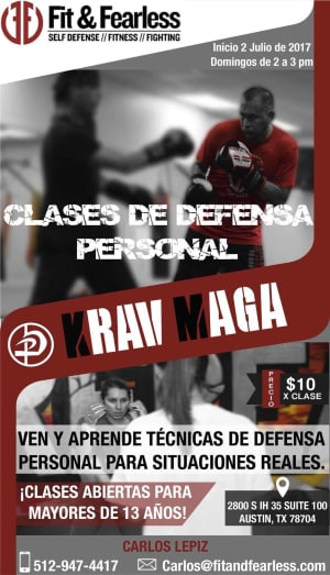Kids Martial Arts  in Austin - Fit & Fearless - Krav Maga en Espanol