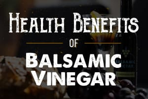 Personal Training in Concord - Individual Fitness - 5 Health Benefits of Balsamic
