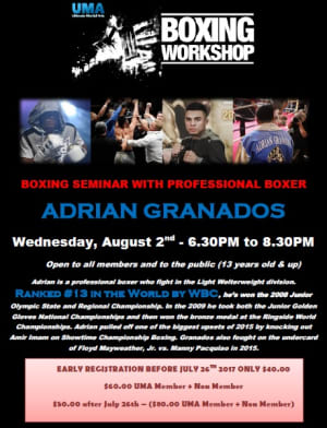 Kids Martial Arts in Chicago - Ultimate Martial Arts - Boxing Seminar - LAST DAY TO REGISTER