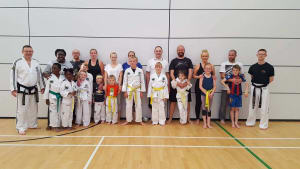Kids Self Defence  in Balbriggan - Elite Taekwondo Academy - Parents as Coaches Night