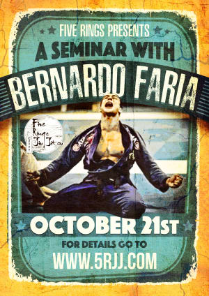 Kids Martial Arts in Portland and Beaverton - Five Rings Jiu Jitsu - Bernardo Faria Seminar at Five Rings | Portland, Oregon - Oct. 21, 2017