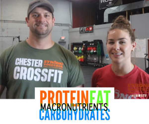 Group Fitness in Chester - Strong Together Chester  - What are Macronutrients?
