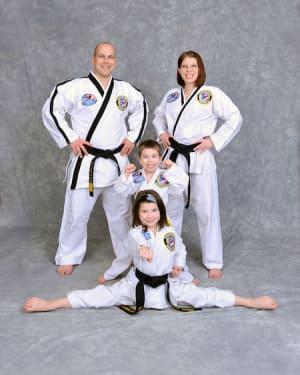 The Church Family in Maryville - Church's Taekwondo America