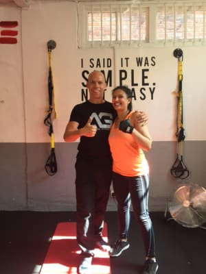 Personal Training in London - AG Personal Fitness - August Client of the Month