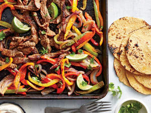 Personal Training in Concord - Individual Fitness - Sheet Pan Steak Fajita
