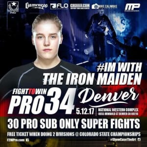We're with Jaidyn Mueller 5/12 for Fight to Win's PRO BJJ at the National Western Complex!