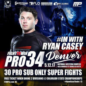 Kids Mixed Martial Arts in Englewood - Factory X Muay Thai - We're with Ryan Casey 5/12 for Fight to Win's PRO BJJ at the National Western Complex!