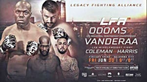 Kids Mixed Martial Arts in Englewood - Factory X Muay Thai - Crazy Cowboy Cortez Coleman is back in the LFA cage 6/30! Derrick Adkins has also been added to this card!