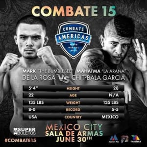 Kids Mixed Martial Arts in Englewood - Factory X Muay Thai - Make sure to catch Mark Delarosa's Combate fight 6/30, live from Mexico City!